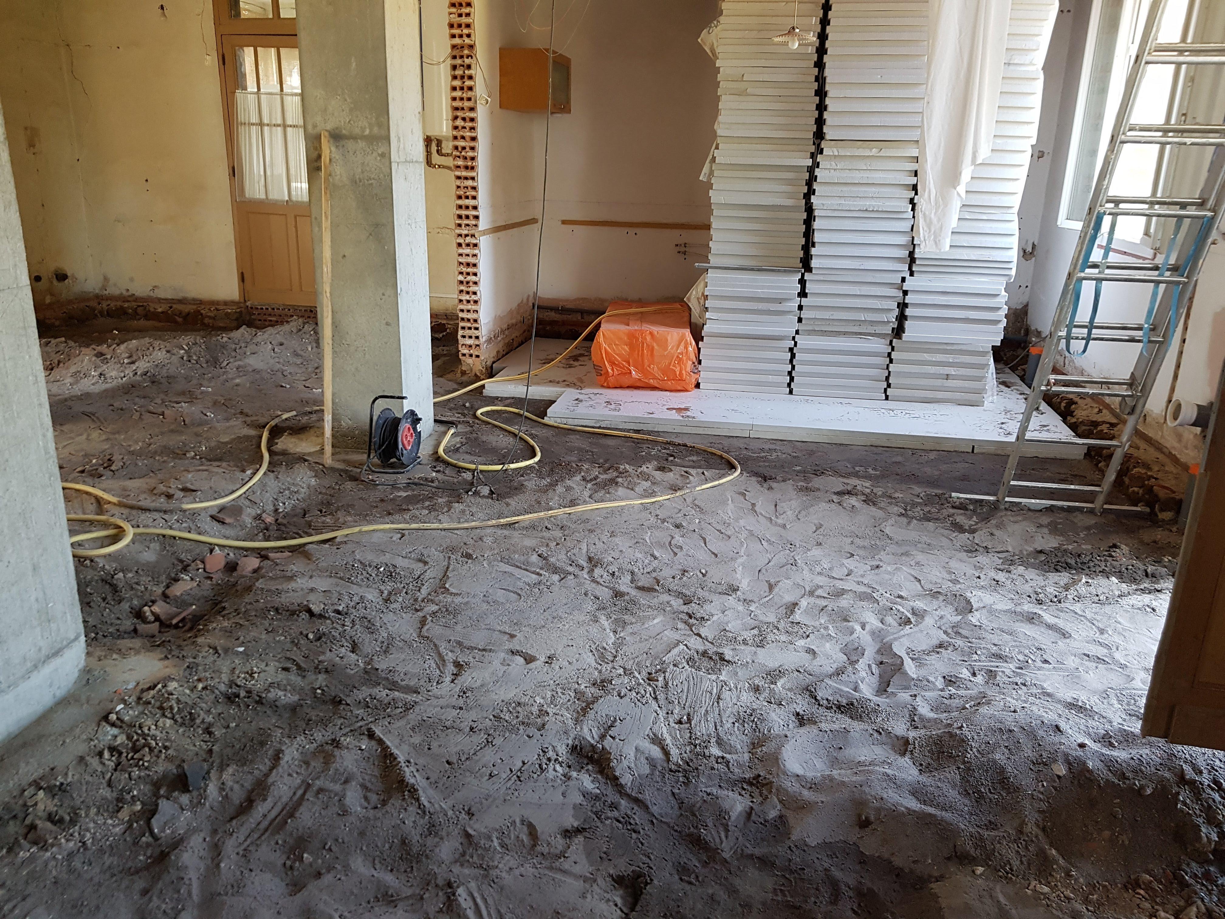 Beton Fußboden Isolieren ~ Der betonfussboden in teilen familien freunde ferien haus